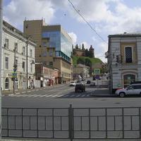Н. Новгород - Вид на ул. Широкую