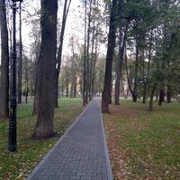 Парк в районе Разгуляя.
