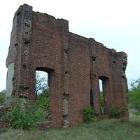 Остатки  брикетной фабрики.