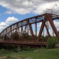 Мост - памятник промышленной архитектуры