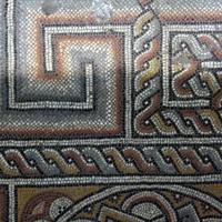 Византийская мозаика эпохи Константина Великого под основным полом.
