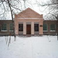 с.Протягайловка, средняя школа №14 зимой