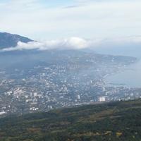 Вид на Ялту с горы АЙ-Петри
