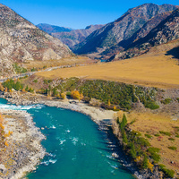 Слияние рек Горный Алтай ( Онгудайский район)