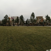 Парк ангелов на проспекте Ленина