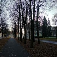 сквер вдоль улицы Людогоща