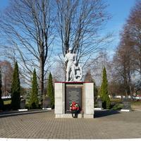 Борки.Памятник,1800 сожженным жителям деревни.
