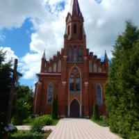 Костел Сердца Иисуса 1911г. (вид со стороны главного входа на территорию костела).
