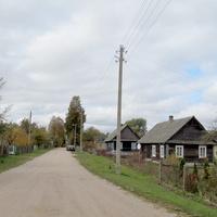 Въезд в д. Кутники