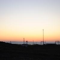 Восход на Балхаше.
