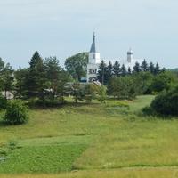 Вид с Юрьевой горы на церковь Св.Александра Невского