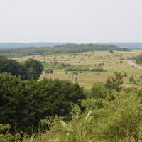 Вид с Юрьевой горы на трассу М-7