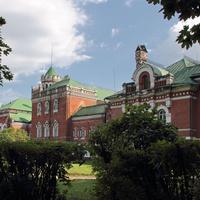 Северный фасад дворца Шереметевых