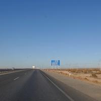 Дорога Чимкент-Кызылорда.