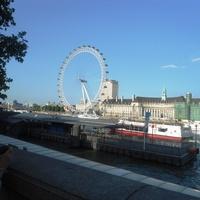 Лондон. Река Темза