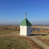 Вид на Оку с села Константиново
