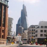 строящийся Лондон Сити  2013 г.