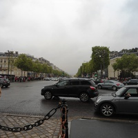 Вид Парижа со стороны триумфальной арки