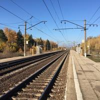 ж/д станция Слёмы