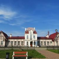 Вокзал станции Верхотурье