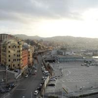 Генуя. Район порта