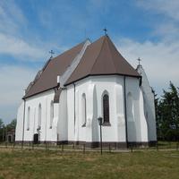 Костел Святой Троицы (вид со стороны алтарной части).