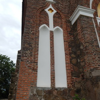 Храм Св.Варвары (вид на левую от главного входа боковую стену).