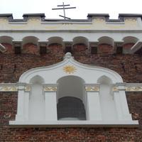 Фрагмент башни храма Св.Варвары.