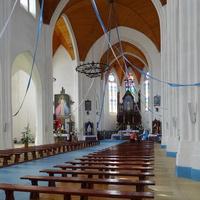 костел Рождества Девы Марии - интерьер