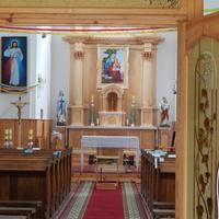 Костел Св.Анны (вид на алтарную часть).