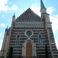 Костел Св. Апостолов Петра и Павла XVII ст. (вид со стороны главного входа).