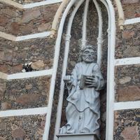 Скульптура Св. Апостола Петра (ему были вручены ключи небесного царства).
