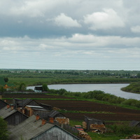 река Сухона в д. Васютино