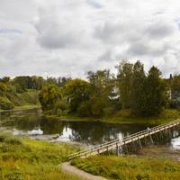 Мост через реку Кашинка