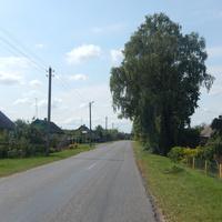 Сельская улица.