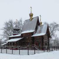 Посёлок Кегостров. Церковь Святого Пророка Илии.
