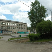 Здание почты и телеграфа в пос. Вожега. 2008 год
