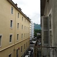 вид с балкона Hotel Bristol