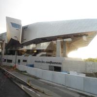 музей des confluences (музей слияние в Лионе)