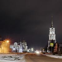 Шуя. Улица Театральная (бывшая Соборная).