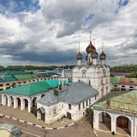 Ростов Великий, вид с колокольни.