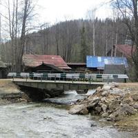Пешеходный мост через р. Архиповка