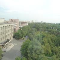 вид на университетской городок