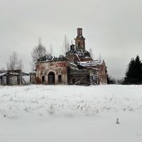 Храм Рождества Христова (Сондугская церковь) 1774 года постройки. 2019 год