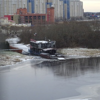Кириши, река Волхов