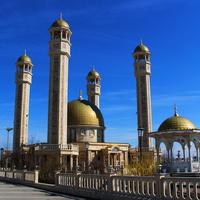 Мечеть имени Юсупа Сакказова в аэропорту.