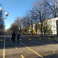 Вулиця Центральна у м. Покров.