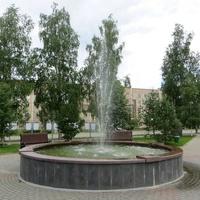 Фонтан в СУБРовском парке
