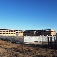 Строящаяся школа