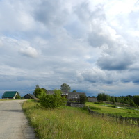 Деревня Красная Горка.